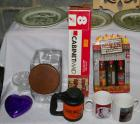 Spices, Cookie Jar, Mugs, Covered Box