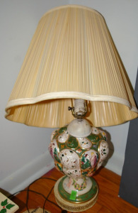 "Table Lamp 30"" Tall"
