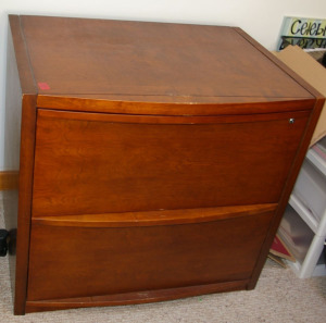 "2 Drawer Lateral File Cabinet 30""x 22""x 27"""