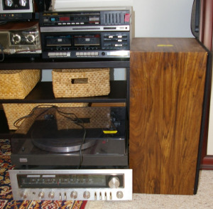 Assorted Vintage Stereo Equipment