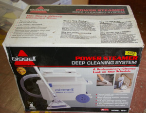 Bissell Power Steamer Carpet Cleaner
