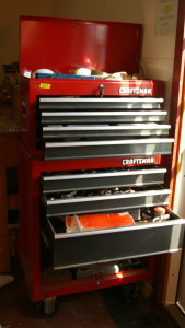 Craftsman Stacking Toolchest & Contents