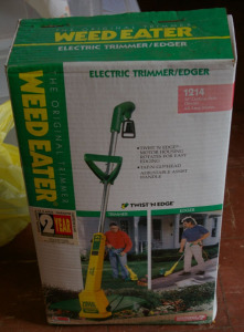 Weed Eater Electric String Trimmer (New In Box)