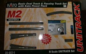 Basic Oval Track & Passing Track Kit W/Power Pack
