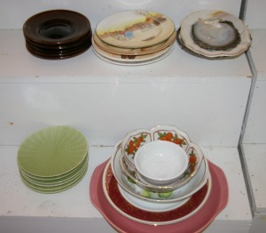 Assorted Plates & China