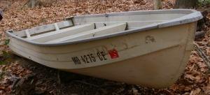 1986 14' Microcraft Aluminum Hull Boat