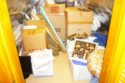 Contents of Closet - Assorted Sewing & Craft Items