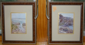 "2 Framed Prints 9""x 11"""