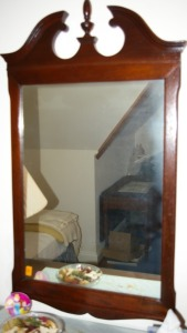 "Framed Wall Mirror 23""x42"""