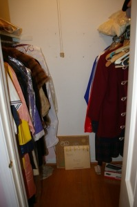 Assorted Clothes in Closet