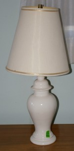Pair - Ginger Jar Style Table Lamps - 1 Shown