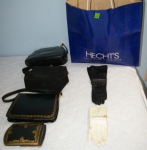 Assorted Purses & Ladies' Gloves