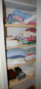 Contents of Linen Closet