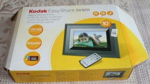 "Kodak 10"" Digital Picture Frame"
